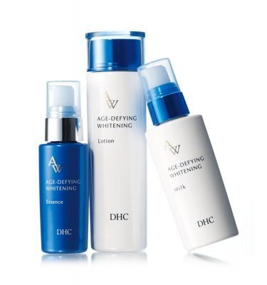 DHC Age-Defying Whitening Essence, Lotion, Milk Made in Japan