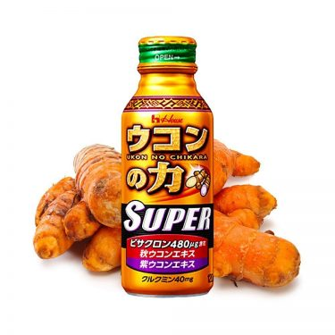 HOUSE SUPER Ukon No Chikara Turmeric Granules Hangover Cure Drink Made in Japan