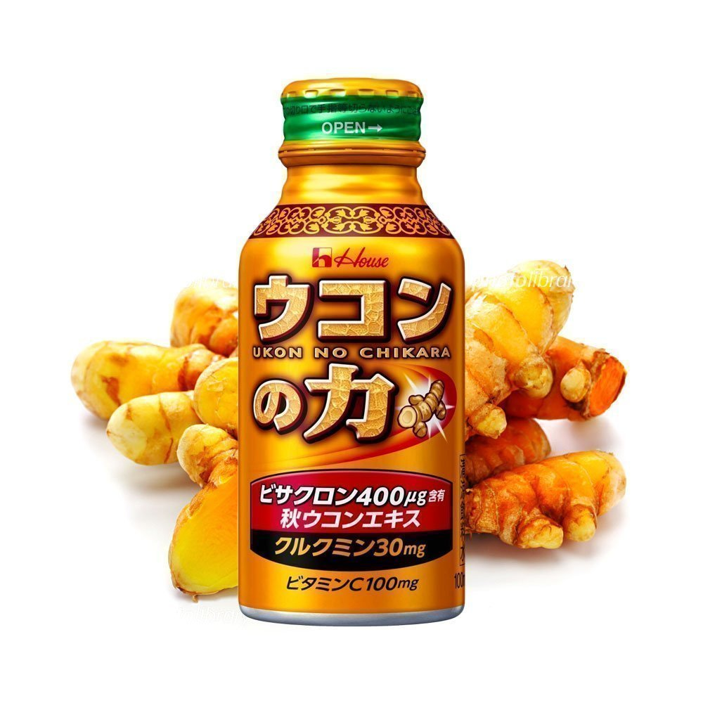 HOUSE Ukon No Chikara Turmeric Granules Hangover Cure Drink Made in Japan