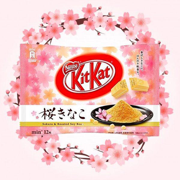 KIT KAT Mini 2018 Spring Sakura