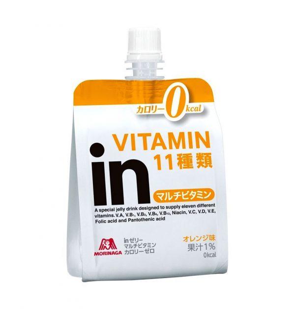 MORINAGA Weider Jelly Energy Drink Multivitamin 0 Calories