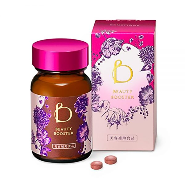 SHISEIDO New Benefique Beauty Booster 60 Tablets Made in Japan