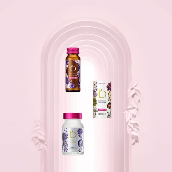 SHISEIDO New Benefique Collagen B boosters Bottles Made in Japan