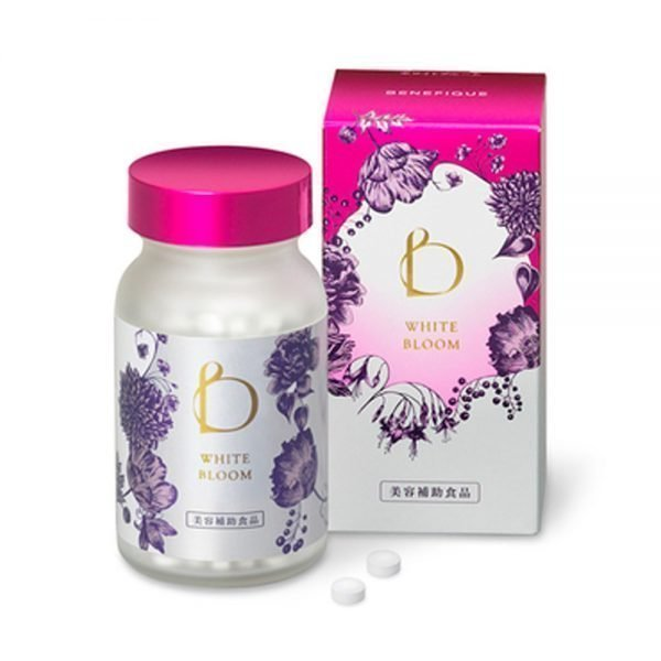 SHISEIDO New Benefique White Bloom 240 Tablets Made in Japan