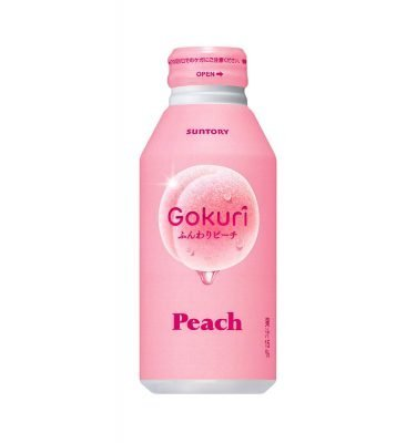 Suntory Gokuri Peach Nectar Made in Japan