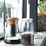 IWAKI Snowtop Water Drip Coffee Server Made in Japan