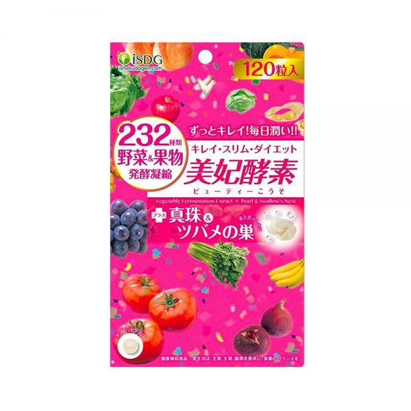 Ishokudogen iSDG 232 Beauty Enzyme Diet Supplement 120 Tablets Made in Japan