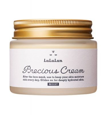 LULULUN Precious Moist Cream Made in Japan