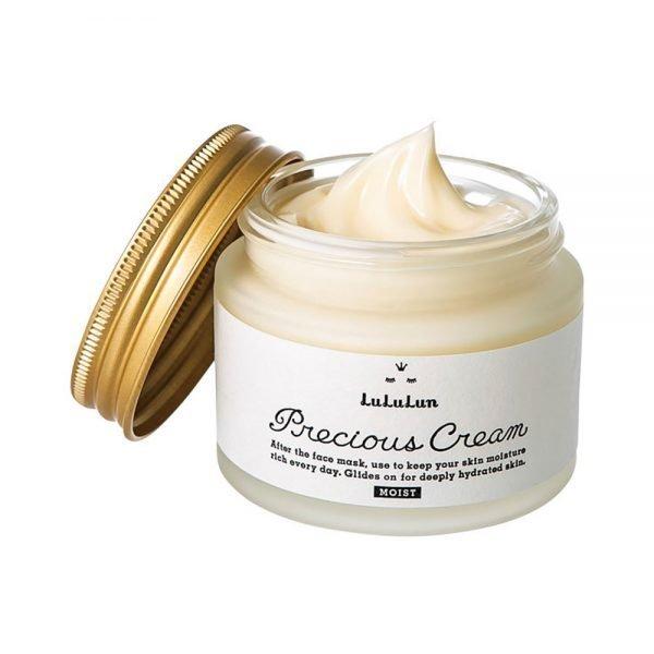 LULULUN Precious Moist Cream Made in Japan