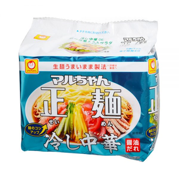 MARUCHAN Hiyashi Chuka 5 Servings Seasonal Limited Japanese Edition