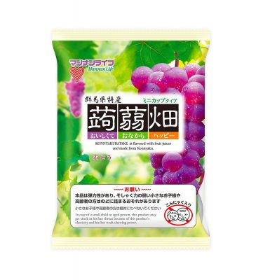 Mannan Life Konyakubatake Konjac Grapefruits Jelly Diet Dietary Fiber Made in Japan
