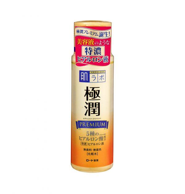ROHTO Hada Labo Premium Gokujun Hyaluronic Lotion Moist 170ml Made in Japan