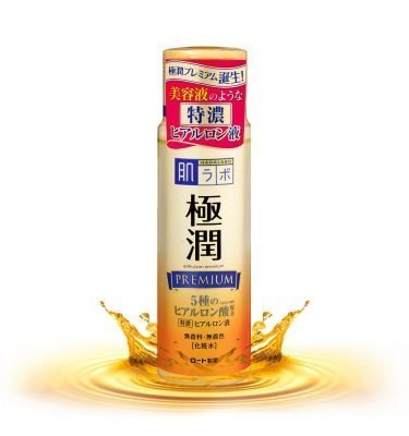 ROHTO Hada Labo Premium Gokujun Hyaluronic Lotion Moist 170ml Made in Japan