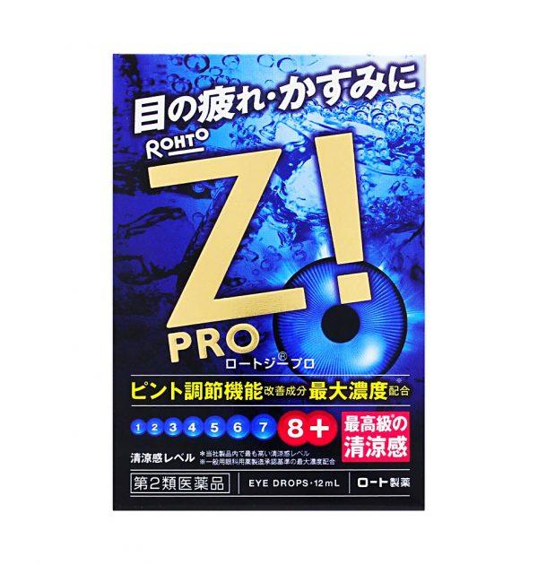 ROHTO Z! PRO Eye Drops 12ml Made in Japan