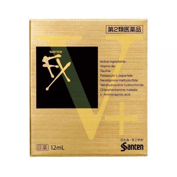 SANTEN FX Neo V-Plus Medicated Eye Drop Made in Japan