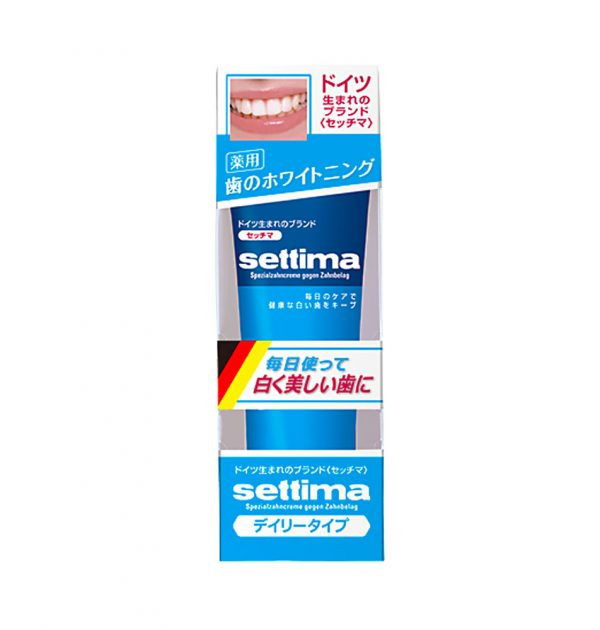 Sunstar Settima Toothpaste Whitening Made in Japan
