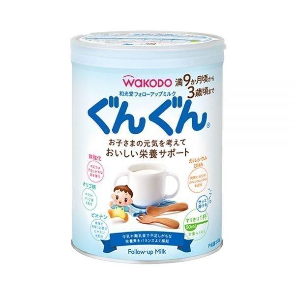 Wakodo Follow-up Milk GUNGUN Made in Japan