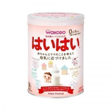 Wakodo Lebens Milk Haihai Powder Formula 810g from 0 Months Made in Japan