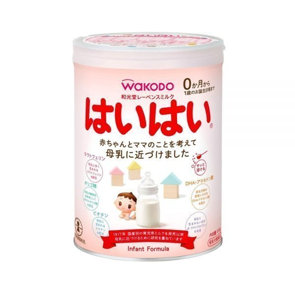 Wakodo Lebens Milk Haihai Powder Formula 810g from 0 Months Made in Japan