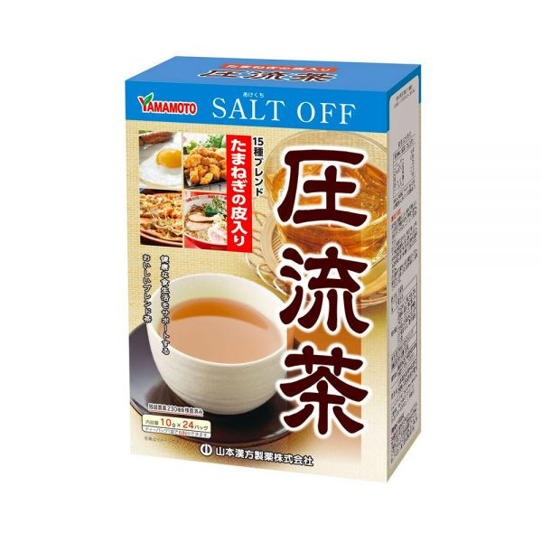 YAMAMOTO Mixed Herbal Tea Salt Off Made in Japan