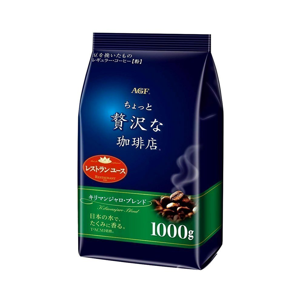 AGF Maxim Little Luxury Kilimanjaro Blend Coffee 1000g Made in Japan