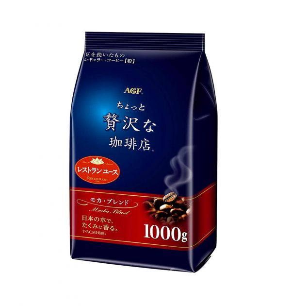 AGF Maxim Little Luxury Mocha Blend Coffee 1000g Made in Japan