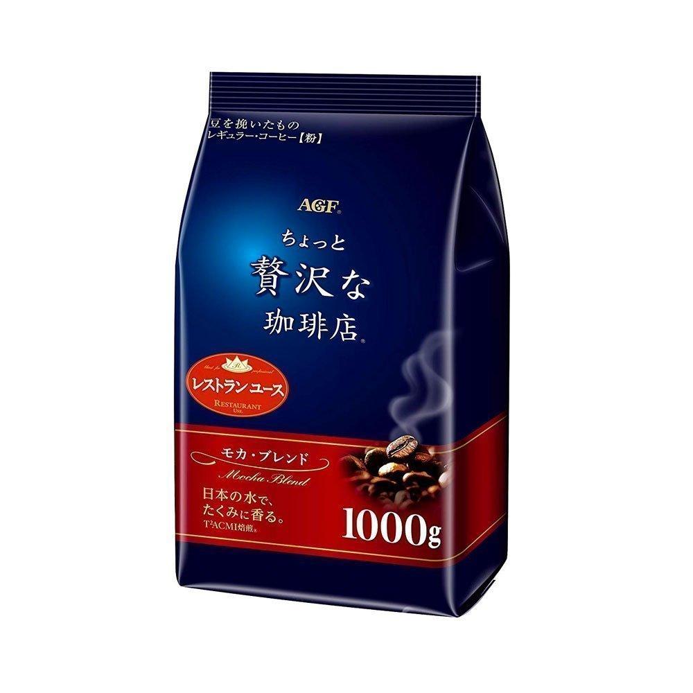AGF Maxim Little Luxury Mocha Blend Coffee 1000g Made in Japan