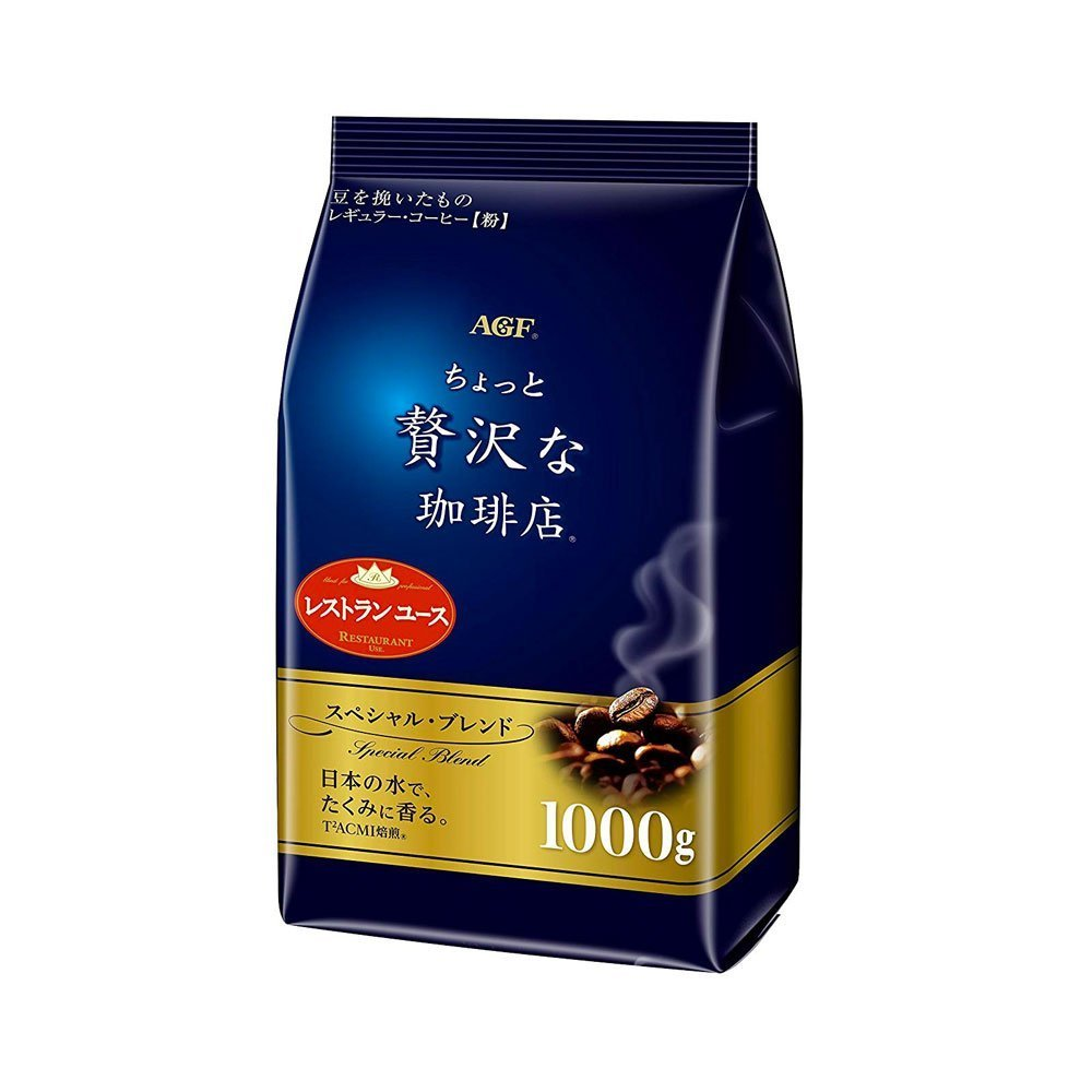 AGF Maxim Little Luxury Special Blend Coffee Regular 1000g Made in Japan