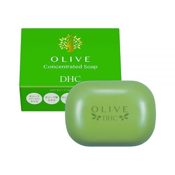 DHC Olive Concentrated Cleansing Soap Made in Japan