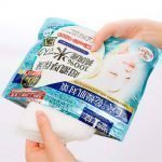 Kose Clear Turn Pure Domestic Rice Face Mask EX Sheets Made in Japan