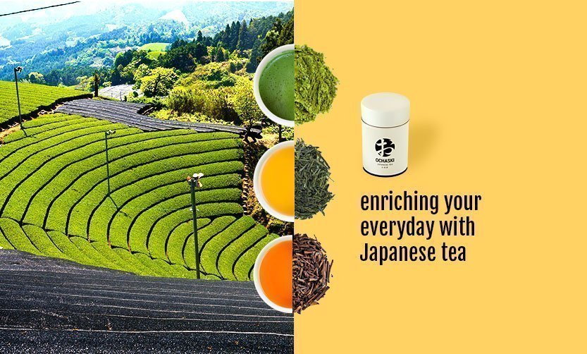 Ochaski MADE IN JAPAN Green Tea and Matcha