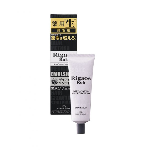 RIGAOS Roh Medicated Hair Growth Emulsion Made in Japan