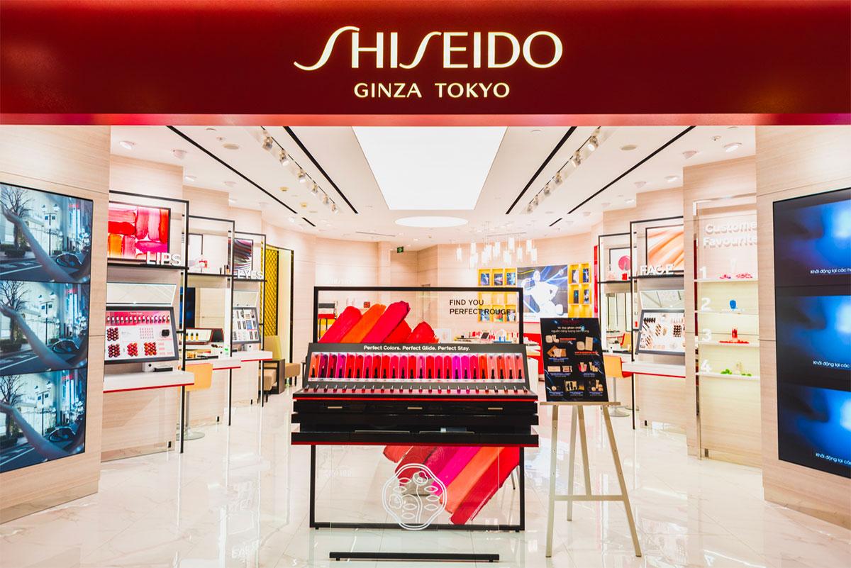 Shiseido Ginza Tokyo Japan
