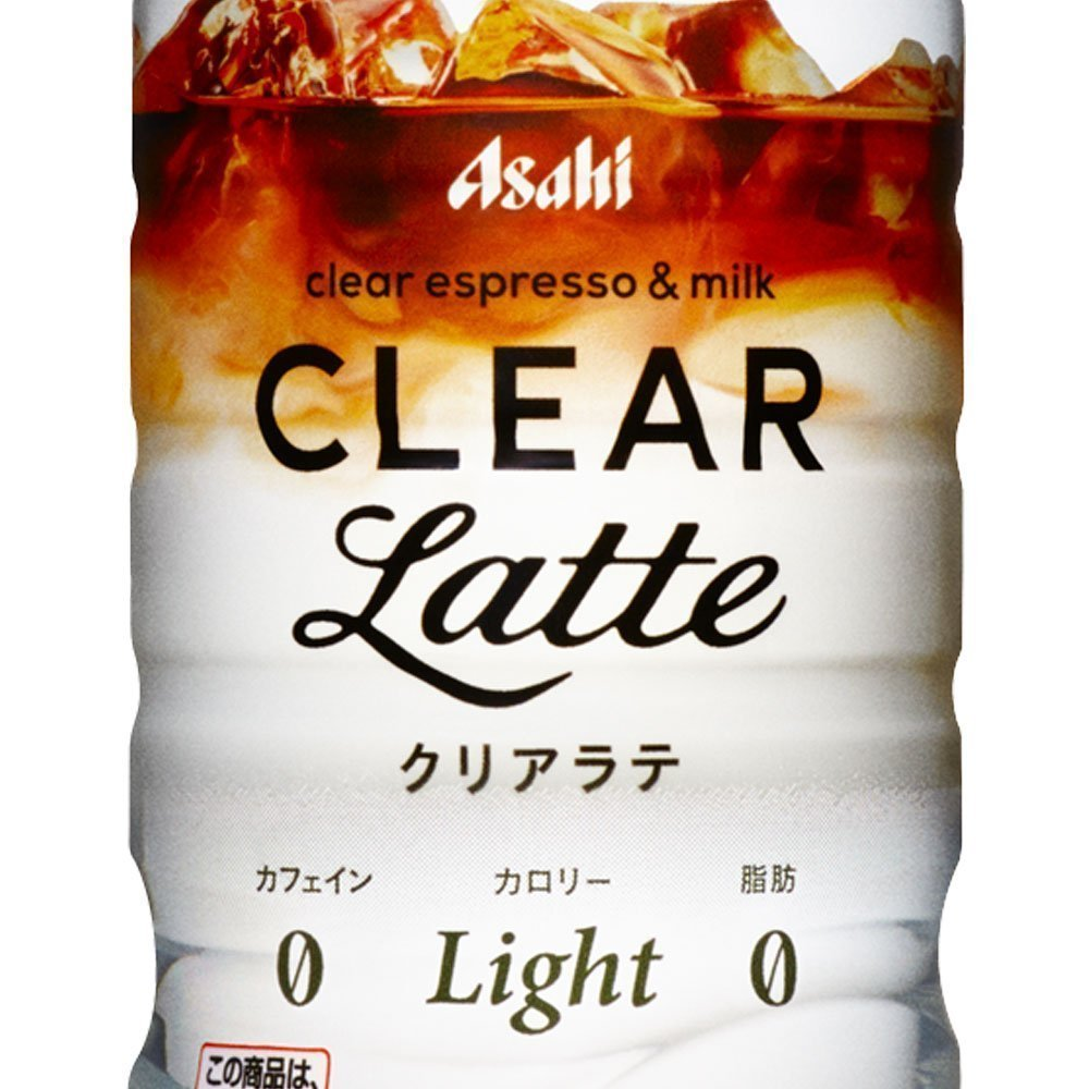 ASAHI Clear Coffee Espresso Milk Latte Made in Japan