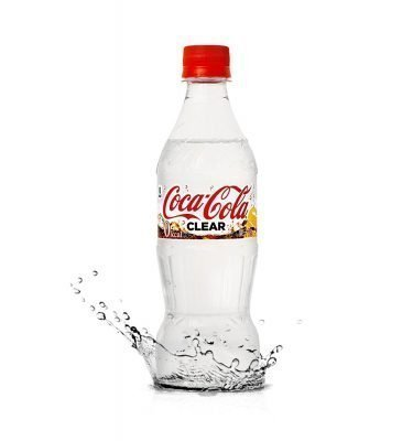 COCA COLA Clear Flavour 2018 Limited Edition 500ml only in Japan