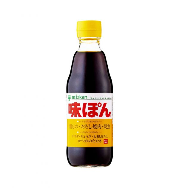 MIZKAN Ajipon Ponzu Citrus Seasoned Soy Sauce Made in Japan