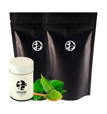 OCHASKI Organic Premium Ceremonial-Grade Matcha Made in Japan