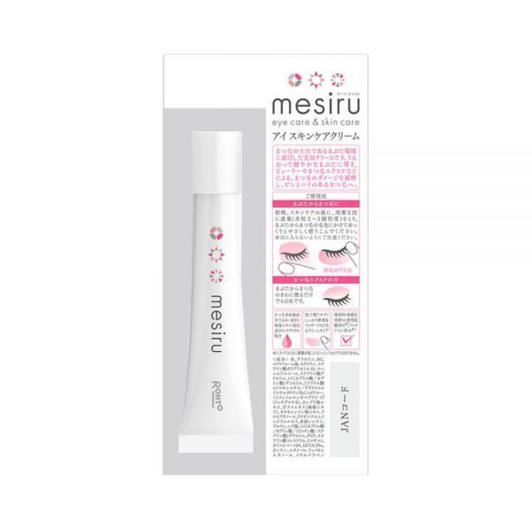 ROHTO Mesiru Eye Skin Care Eyelid Eyelash Beauty Cream Made in Japan