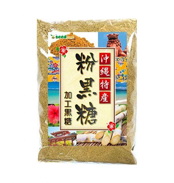 SEED Okinawan Brown Sugar with Sugarcane Made in Japan