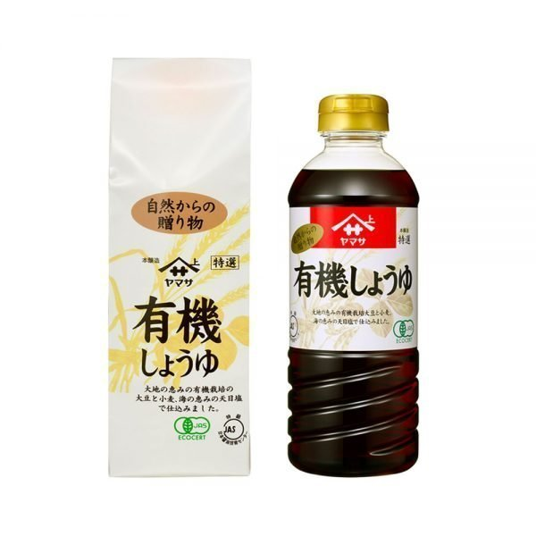 YAMASA Organic Shoyu Premium Select Japanese Soy Sauce Made in Japan