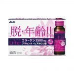 ASAHI Perfect Asta Collagen with Placenta Drink Premier Rich Lifter Bottles - Made in JapanASAHI Perfect Asta Collagen with Placenta Drink Premier Rich Lifter Bottles - Made in Japan