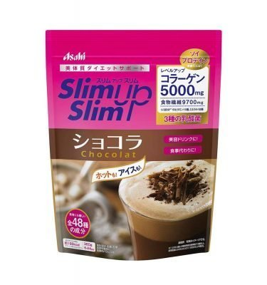 ASAHI Slim Up Slim Chocolat with Collagen Made in Japan
