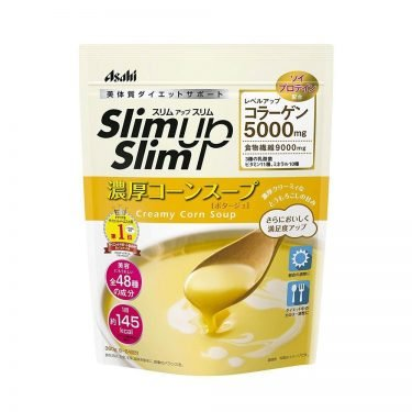 ASAHI Slim Up Slim Creamy Corn Soup with Collagen Made in Japan