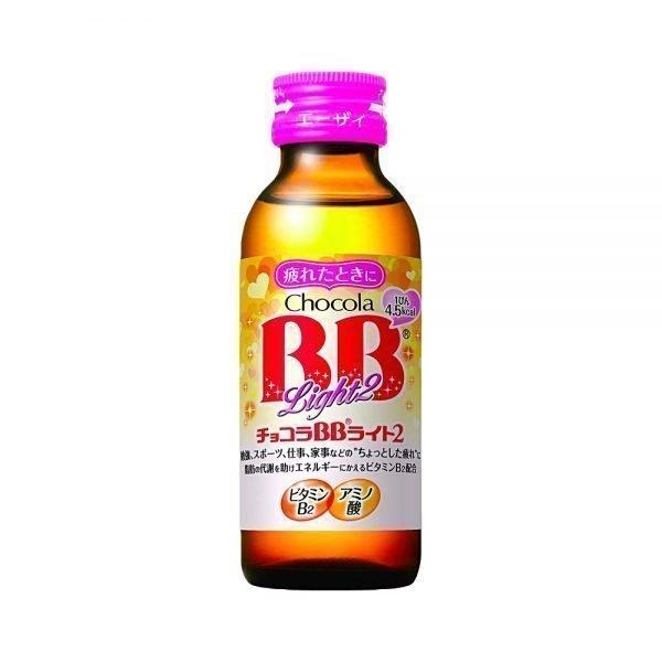EISAI Chocola BB Light2 Vitamin B2 Drink Bottles Made in Japan