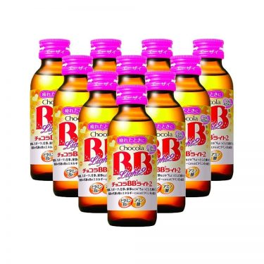 EISAI Chocola BB Light2 Vitamin B2 Drink Bottles Made in Japan