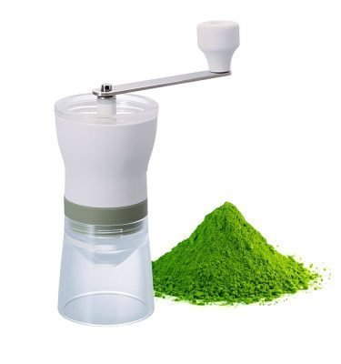 HARIO Green Tea Mill Grinder with Mesh Sifter Chaco Made in Japan
