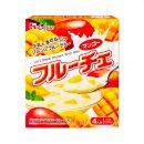 HOUSE Lactic Acid Bacteria Fruit Mango Pudding Dessert Made in Japan