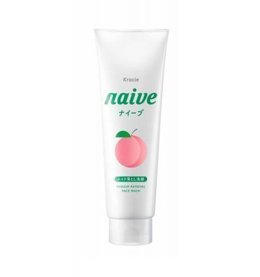KRACIE Naive Makeup Removal Face Wash Cleansing Foam Peach Made in Japan