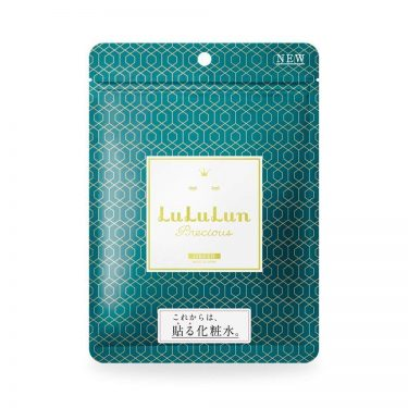 LULULUN Face Mask Precious Green Oil Power for Ageing Care Made in Japan