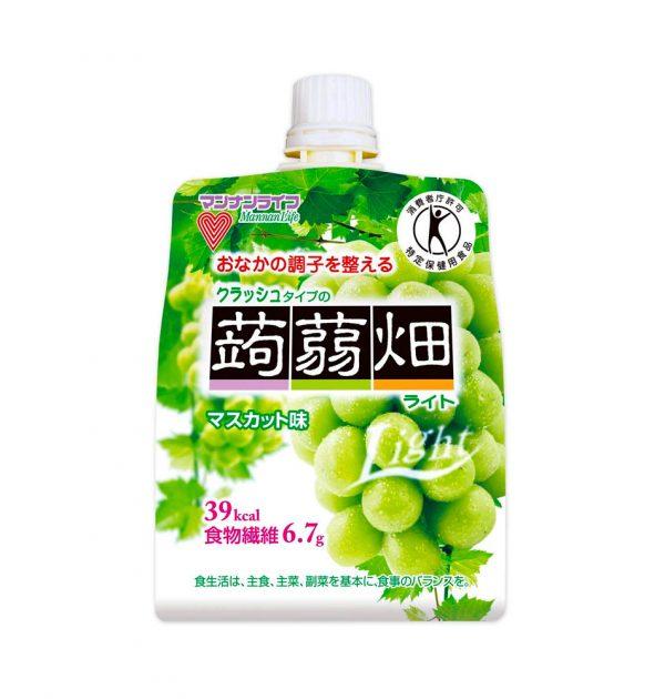 MANNANLIFE Konyakubatake Konjac Muscat Grapes Jelly Diet Dietary Fiber Made in Japan